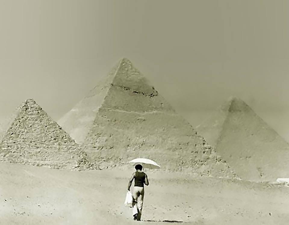 モーリスとピラミッド
