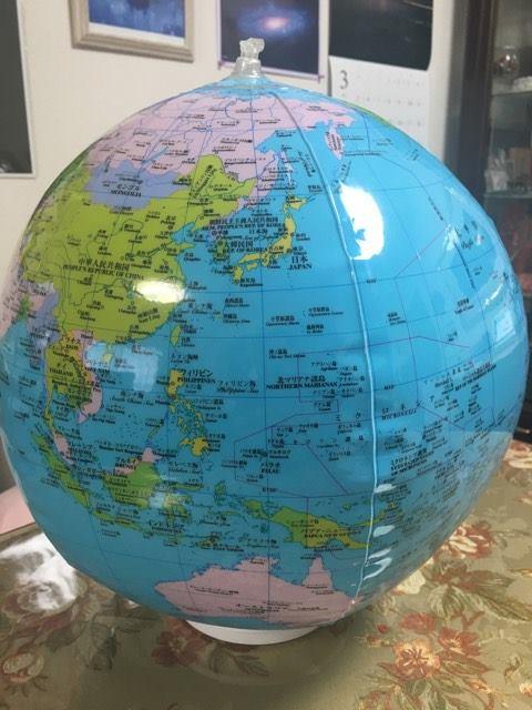 20170316地球儀