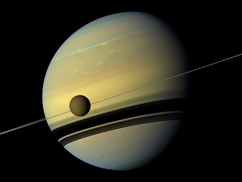 20170514土星とタイタン