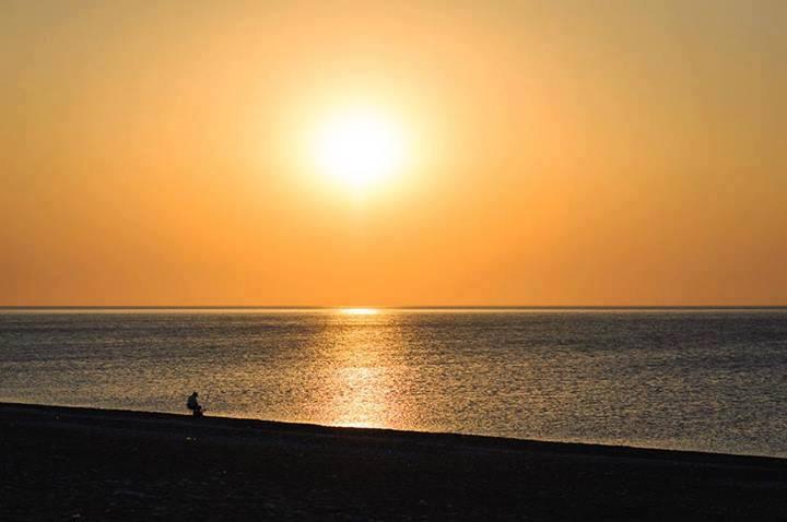 <太陽と海>No.411