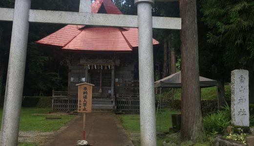 <夢にでてきた小さなシンクロ 白山神社>No.467